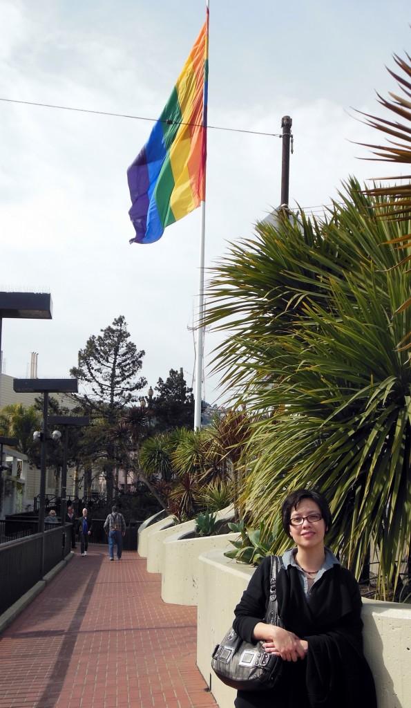 Jeanette in the Castro