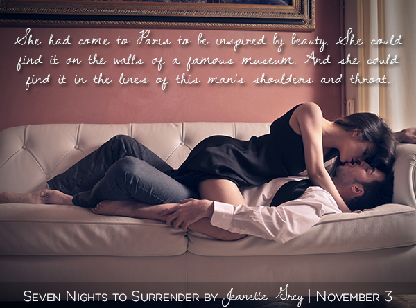 An erotic romance by Jeanette Grey - Seven Nights To Surrender